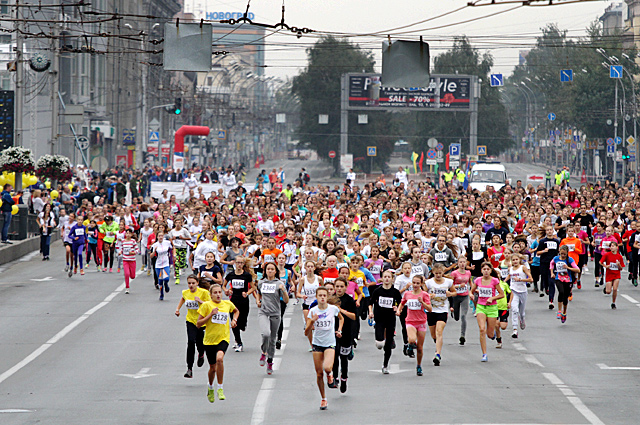Сибирский фестиваль бега-2015
