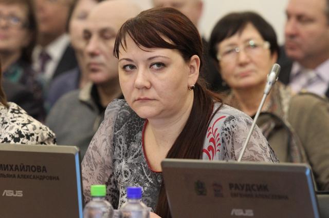 Ульяна Михайлова - депутат Псковского областного Собрания.