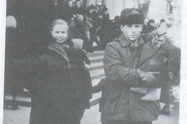Булатов с женой Риммой.