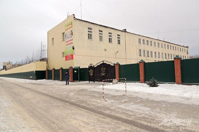Исправительная колония № 18 находится в промышленном районе Казани