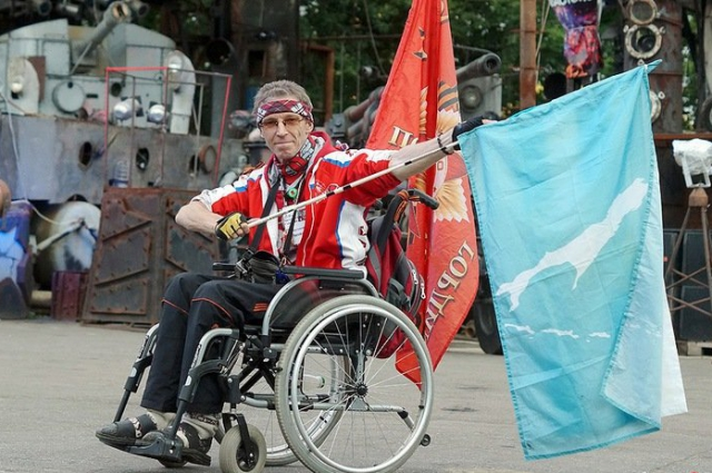 Игорь Скикевич доехал до Сахалина. Никогда нельзя опускать руки и сдаваться, говорит он.