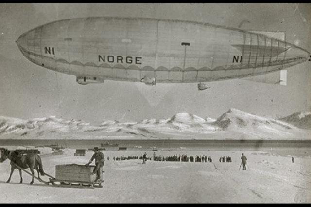 «Норвегия» совершила первый в истории трансатлантический перелет.
