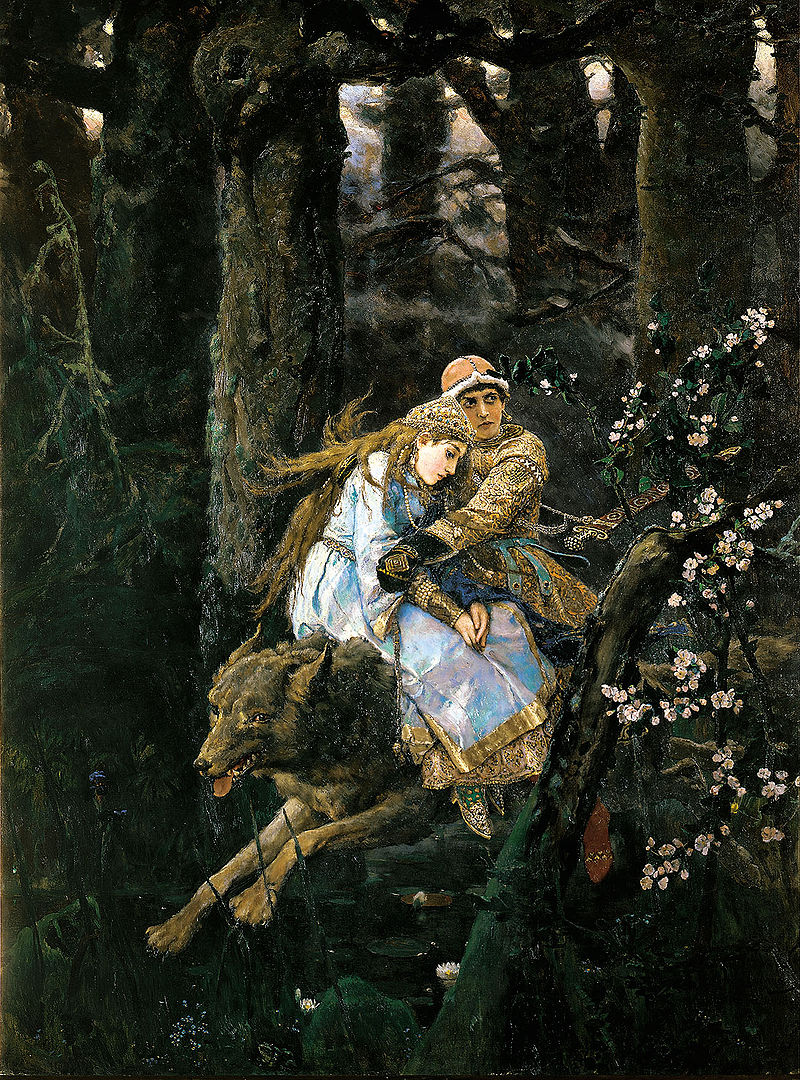 Известно, что для образа царевны художник использовал портреты Натальи Анатольевны и Татьяны Анатольевны Мамонтовых.