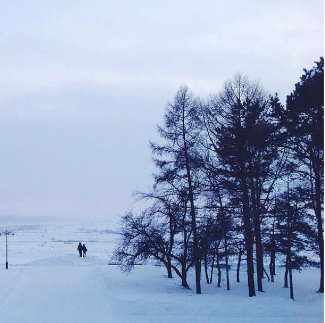 Холодная Сибирь.