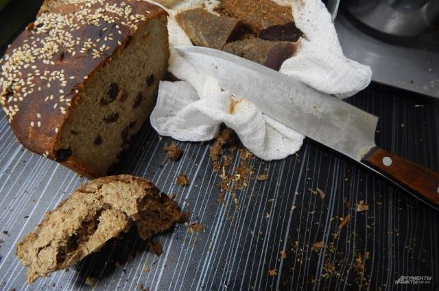 Один из видов хлеба - десертный из аморантовой муки