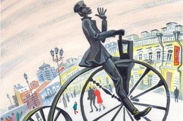 Изобретатель велосипеда Ефим Артамонов с улицы Вайнера.