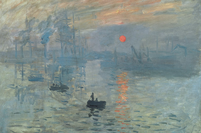 Клод Моне Впечатление. Восходящее солнце. 1872