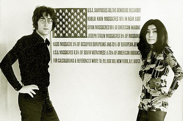 Джон Ленон и Йоко Оно. Не позже 1969 года