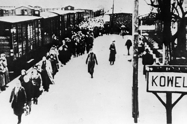 Ковель во время войны, 1943 г.