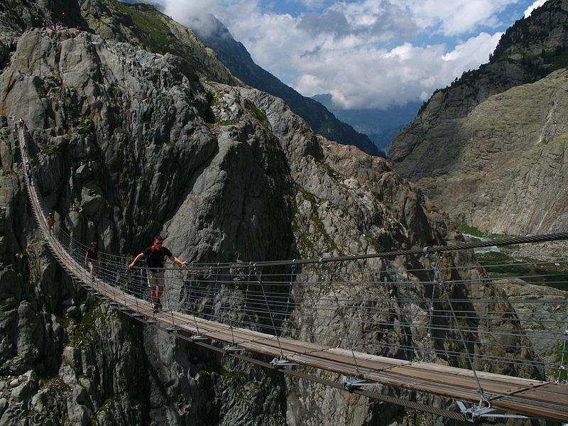Мост Трифт-Бридж, Швейцария