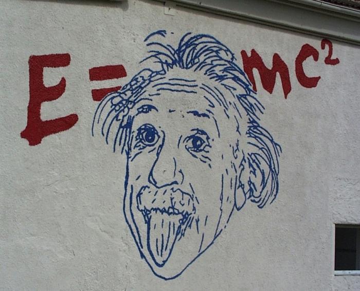 Альберт Эйнштейн.