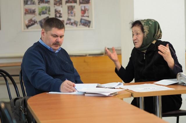Интервью профессора О.В. Матвеева в ауле Хакуринохабль.