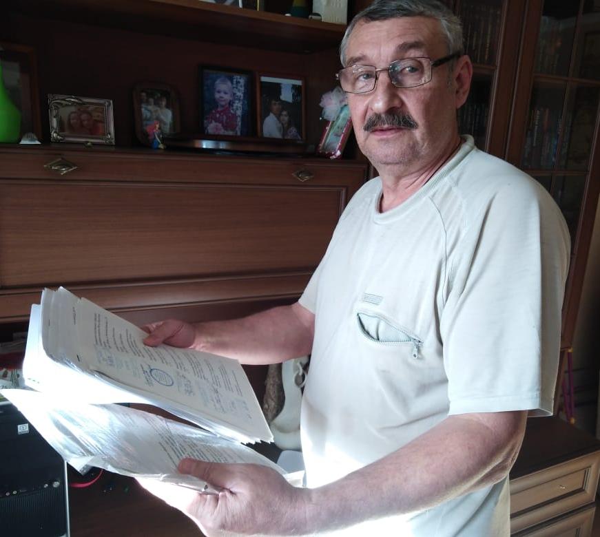 Игорь Кокорев ждет ответа из прокуратуры Казани, куда направил требование вернуть участок городу.