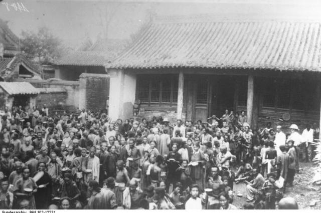 Пострадавшие от наводнения, август 1931 г.