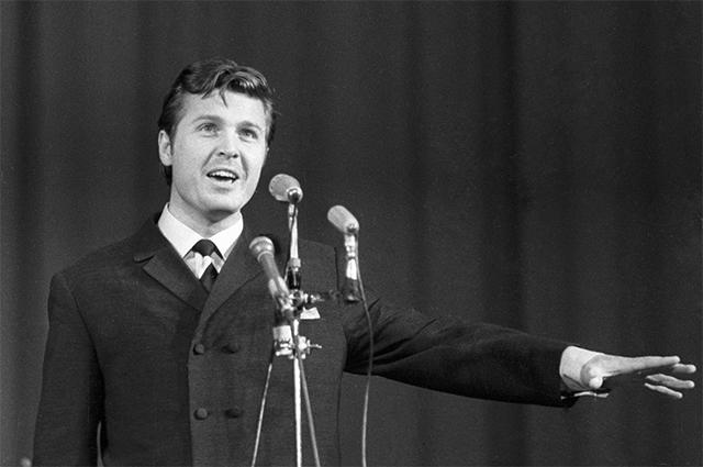 Лев Лещенко. 1970 год.