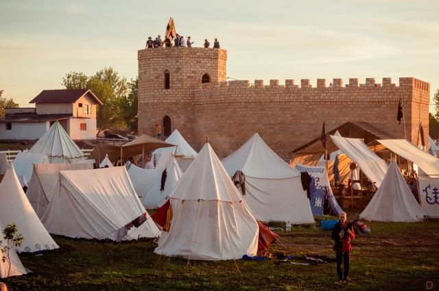 Данбург, 2021. Рыцарский фестиваль в Липецкой области.