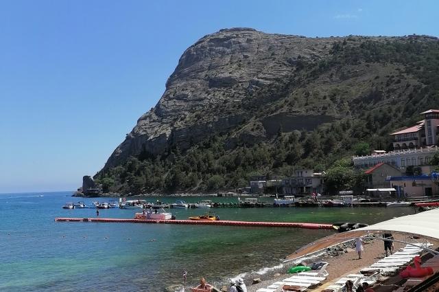 В Крым едут ради неповторимой природы и удивительного моря