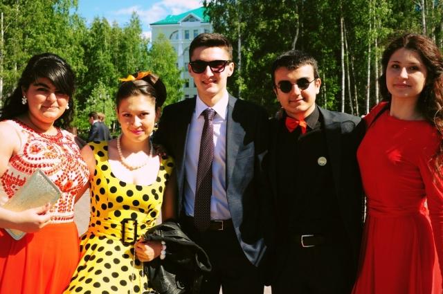 Выпускники в Ханты-Мансийске