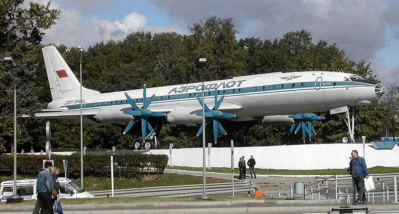 Турбовинтовой межконтинентальный пассажирский самолёт Ту-114