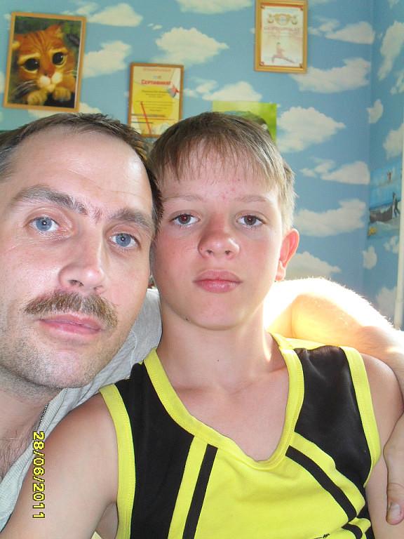 Павел и Антон 14 лет