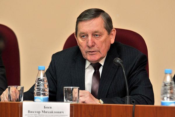Виктор Боев, бывший ректор ОрГМУ (ОрГМА).