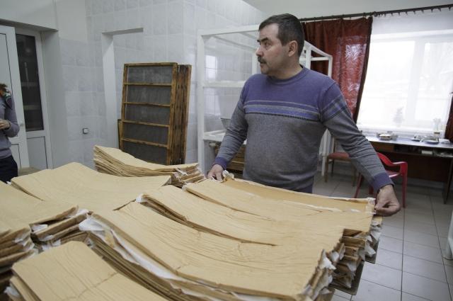 На производстве белёвской пастилы