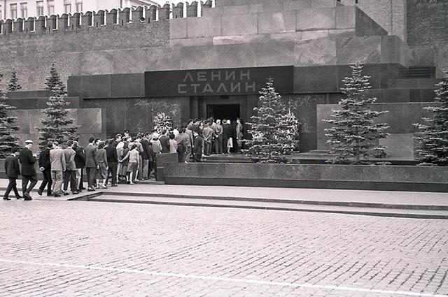 Мавзолей Ленина Сталина, 1957 год.