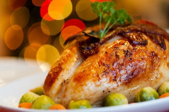 Фаршированная куриная грудка - уже полноценное блюдо
