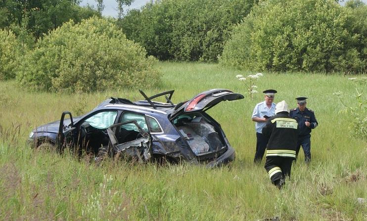 Пассажирка иномарки получила травмы, не совместимые с жизнью