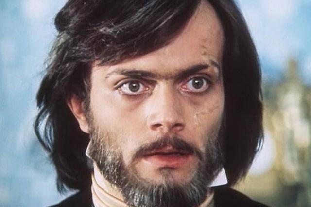 Андрей Харитонов в фильме «Овод». 1980 год.