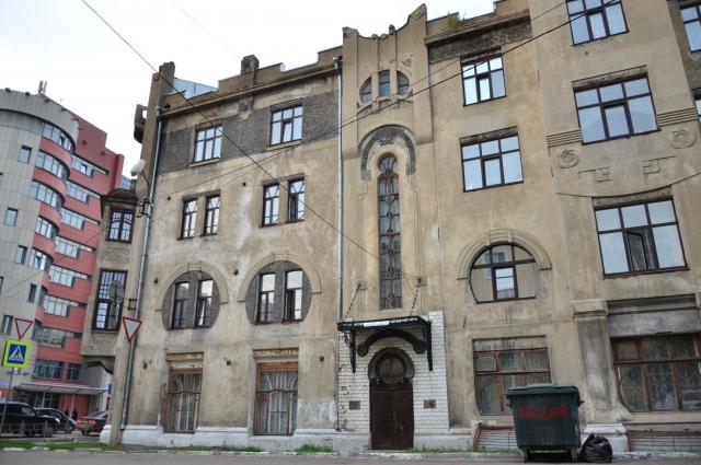 Так дом выглядит со стороны ул. Чапаева.