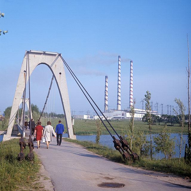 Город Электренай, 1974 г.
