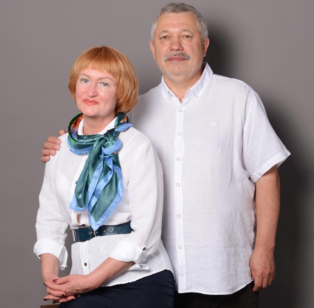 Супруги Нагибины: Ирина и Вячеслав.