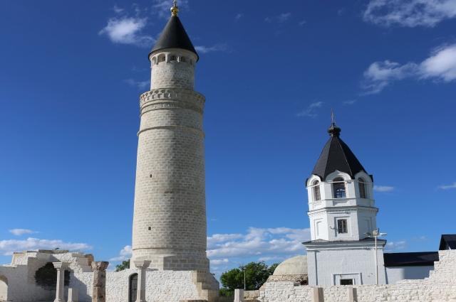 Руины Соборной мечети.
