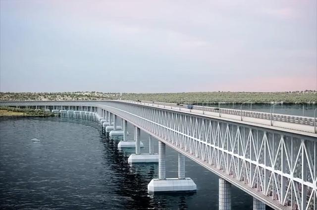 Проект моста через Керченский пролив от компании Автодор
