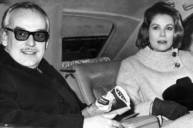 Грейс Келли и Ренье III. 1968