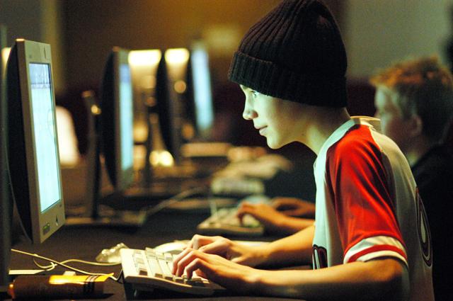 Интерес подростка к сайтам