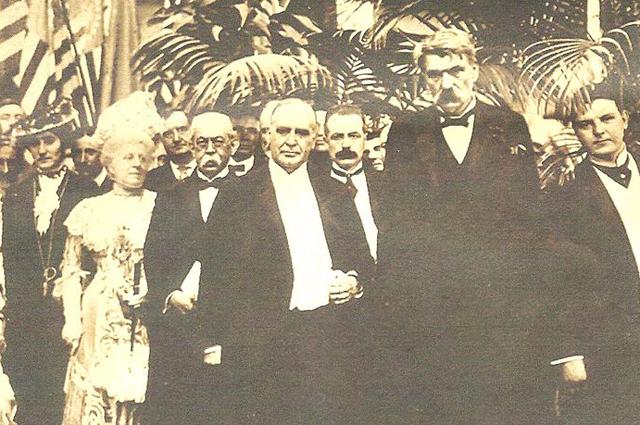 Последнее фото президента Мак-Кинли.