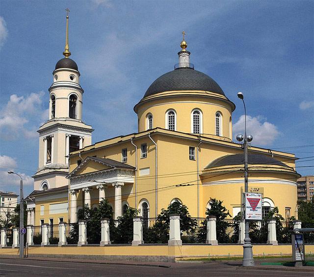 Церковь Большого Вознесения у Никитских ворот. Современный вид