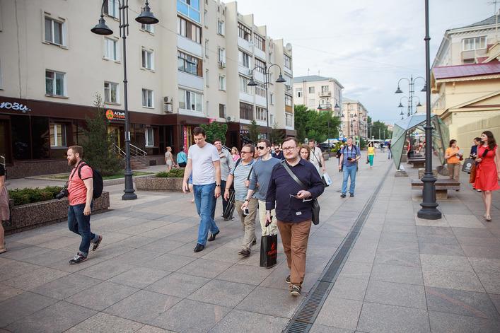 Блогеры побывали на омском