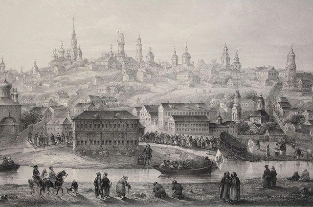 Воронежское адмиралтейство начала XVIII века