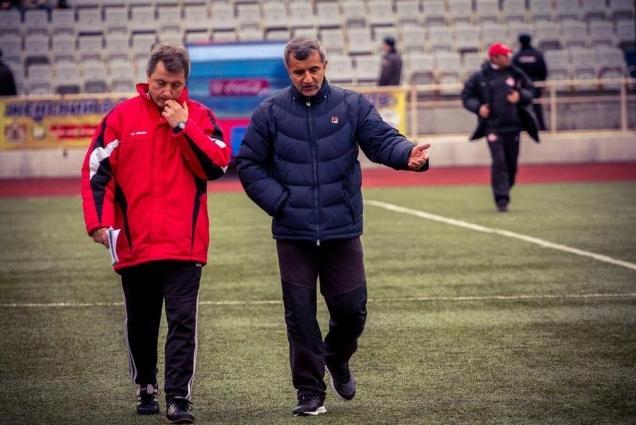 Валерий Бахмутов и Гарник Авалян.