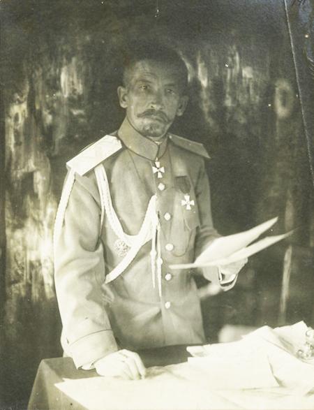 Лавр Корнилов в 1917 году.