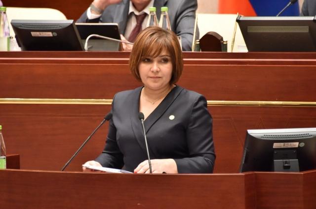 Гузель Удачина отчиталась о работе в 2016 году.