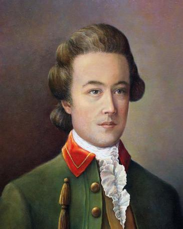 Портрет И. П. Тургенева в галерее ректоров Московского университета на Моховой.