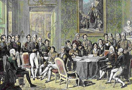 Венский конгресс. Жан-Батист Изабе, 1814