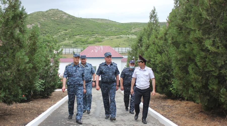 Уральские полицейские на Кавказе