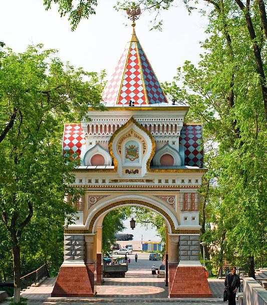 Николаевские Триумфальные ворота во Владивостоке построили в честь прибытия Цесаревича Николая