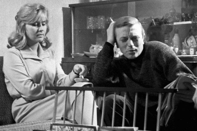 Анатолий Ромашин с женой Галиной. 1964 год