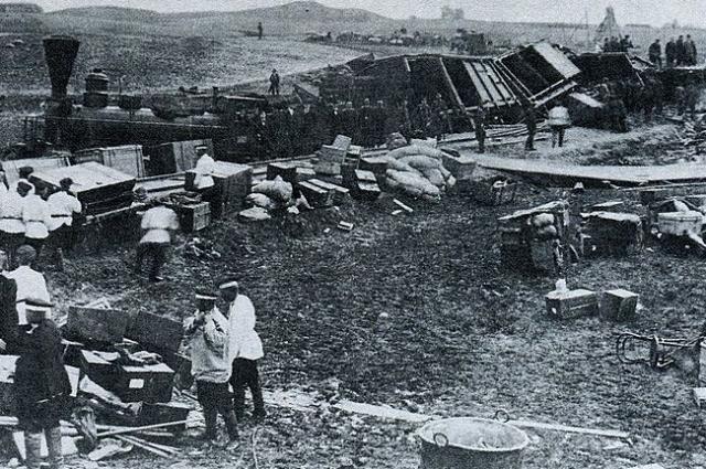 В результате крушения царского поезда погиб 21 человек.
